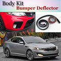 Bumper Lip Deflector For KIA K5 Lotze Advance Innovation / Optima Regal / Magentis Front Spoiler Skirt For TG Fans Tuning Strip