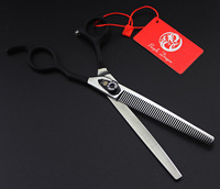 7 inch 440C Hair Scissors Professional Hairdressing Scissors Barber Shears