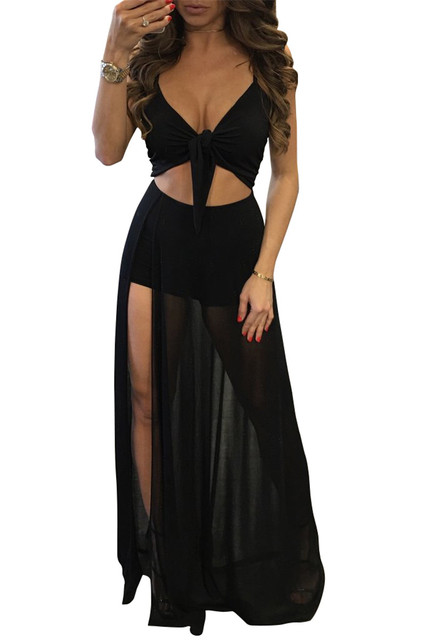 Transparent Nightclub Dresses