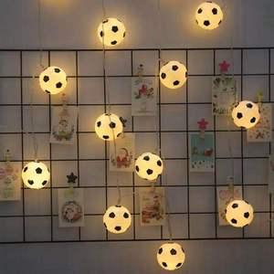 Image 3 - JSEX פיות אור עם Remot מחרוזת חג זר כדור Led אור חיצוני עץ חג המולד חתונה בית נר מזויף קישוט