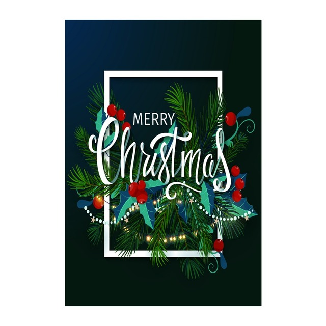 have a merry christmas decorative outdoor and indoor flags 100 polyester custom personalized garden flags - Decorative Christmas Flags