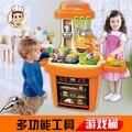 Nova Multifuncional Brinquedo Casa de Jogo De Cozinha Cozinhar Multifuncional Barril de Segurança Não-tóxico Material de Proteção Ambiental