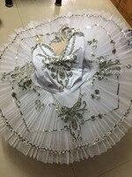 2017 New Female Swan Lake Ballet Dancewear White Adult Professional Ballet Tutus Costumes Classical Ballet Tutu