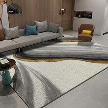 Современный ковер в скандинавском стиле для украшения дома, спальни, ковра для дивана, ковер для гостиной, кабинета, коврики из полипропилена, большой напольный коврик
