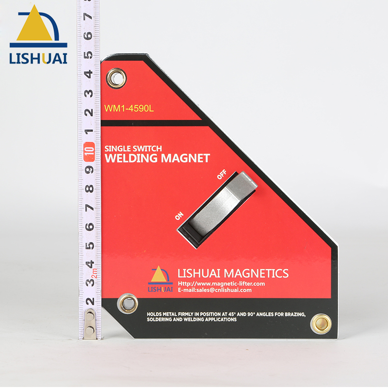 Strong On/Off Adust-O Magnet Square for Welding Magnet Neodymium Magnetic Clamp WM1-4590L Big SizeStrong On/Off Adust-O Magnet Square for Welding Magnet Neodymium Magnetic Clamp WM1-4590L Big Size