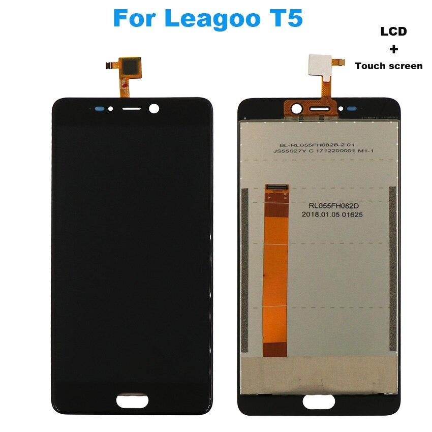 Pour Leagoo T5 LCD Affichage Tactile Assemblée D'écran Pour Leagoo T 5 Écran Écran LCD Outils Gratuits