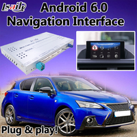 Android 6 0 Navigation Interface Box For Lexus CT 2012 2017 Mouse Version Can Download Any