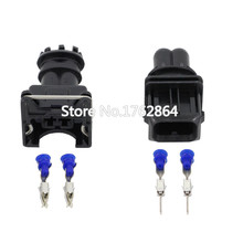 10 Set AMP Tyco JPT Style 3.5mm Series 2 pin DJ7021A-3.5-11/21 Waterproof Female And Male Connector With Pins And Seal  цена и фото