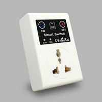 Newest 220V Phone RC Remote Wireless Control Smart Switch GSM Socket Power EU UK Plug For