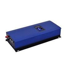 MPPT солнечной энергии на сетке галстук инвертор 2000 Вт с ограничителем 45-90 В DC AC 220 В 230 в 240 В lcd, wifi опционально