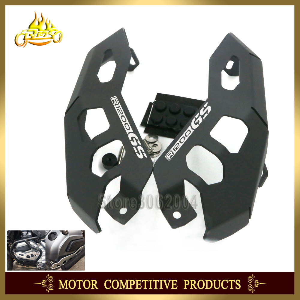 Motorcycle Cylinder Head Engine Guards Protector Cover For BMW R 1200 GS R1200GS 1200GS Adventure ADV