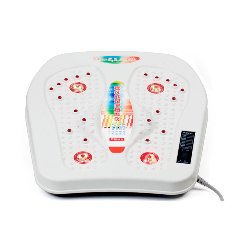 Pedicure Machine Far infrared foot massage apparatus Vibration magnetic wave heating foot physiotherapy instrument vibration type pneumatic sanding machine rectangle grinding machine sand vibration machine polishing machine 70x100mm