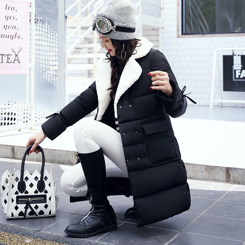 2017 Women Winter Coat and Women's Fashion Windproof Parkas Female Jacket  New Design Hot Sale