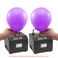 Professional Lagenda Twisting Modeling Balloon Inflator with Battery Digital Time and Counter Electirc Balloon Pump