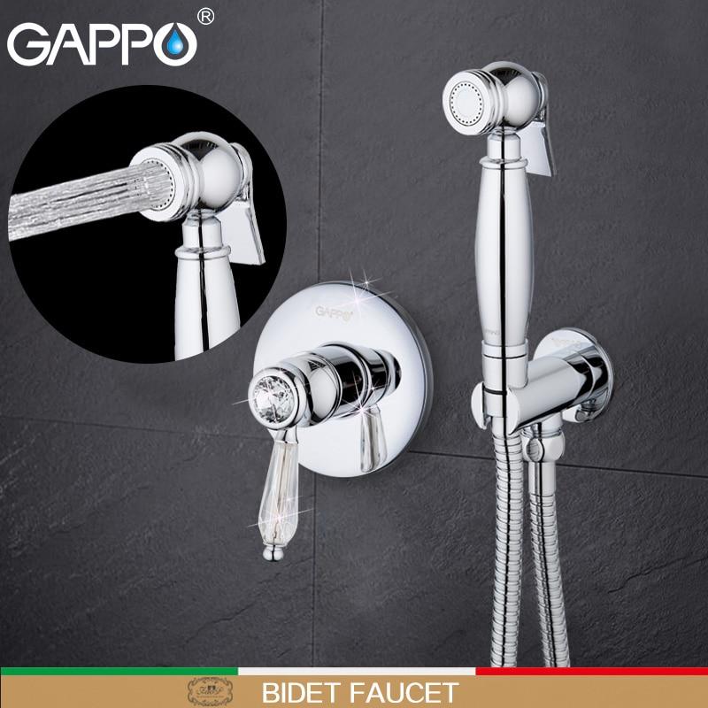 Здесь продается  GAPPO Bidet Faucet muslim shower toilet bathroom bidet toilet sprayer hand shower washer tap mixers wall mount bidet tap mixer    Строительство и Недвижимость