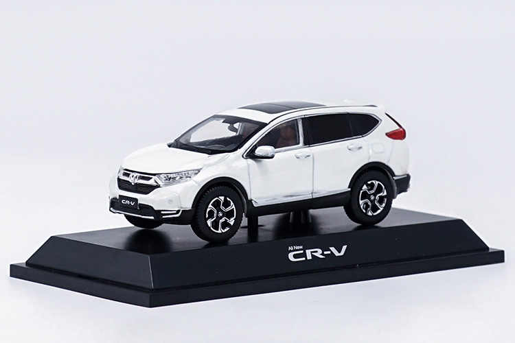 1 43 Honda Cr V 2017 White Suv Cast Model Car Hot Ing Crv