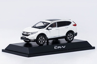 1:43 Honda CR V 2017 White SUV Diecast Model Car Hot Selling CRV CR V