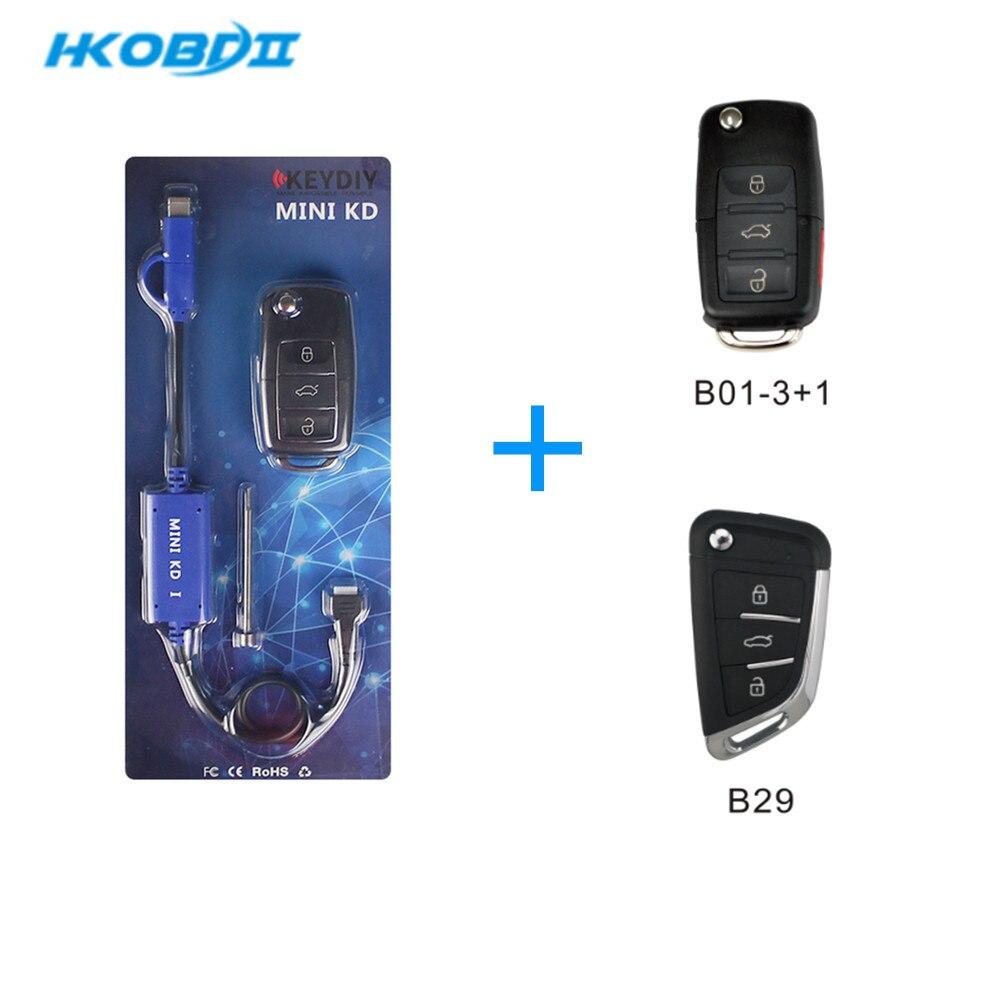 KEYDIY KD Mini KD Key Remote Generator on IOS Android Support Make More Than 2000 Auto Remotes   B series remote