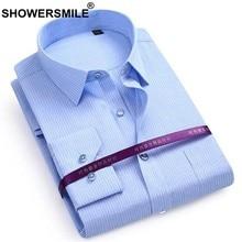 525d868e54 CHUVEIROS Marca Tarja Homens Camisa Cinza de Algodão Inteligente Camisa  Masculina Desgaste Formal do Negócio de