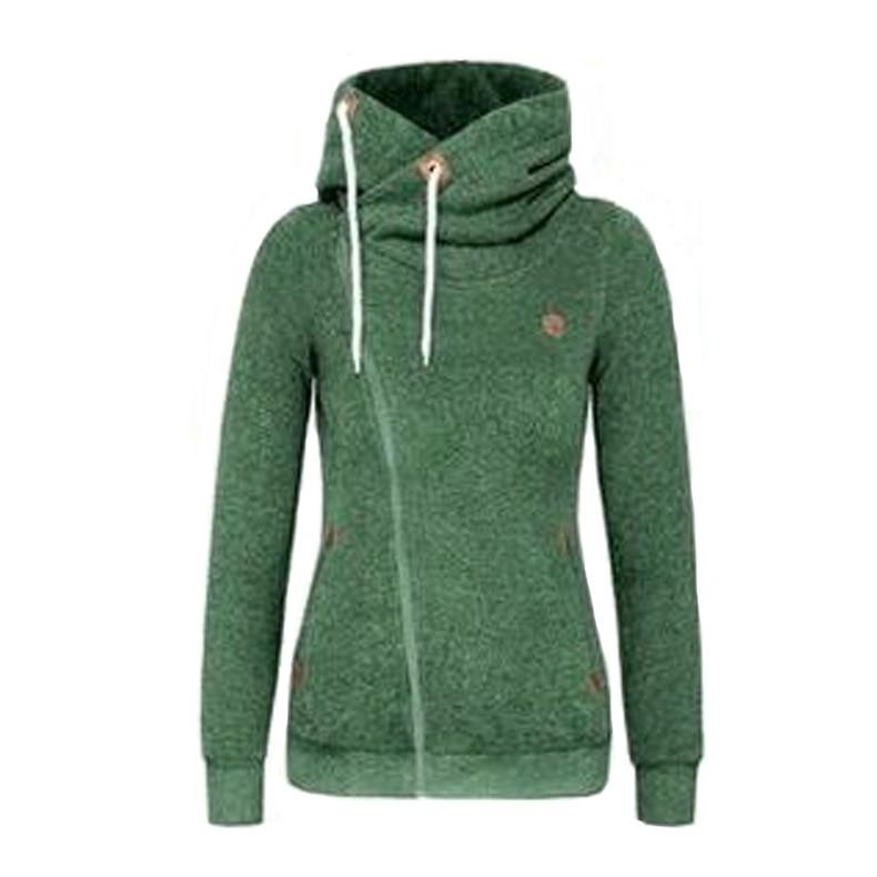c52f4ea93df US $10.75 46% OFF BeautyStay Long Sleeve Pockets Side Zipper Girls Hoodies  Women Oversized Zip Hoodie Autumn Winter Female Warm Hooded Sweatshirt-in  ...