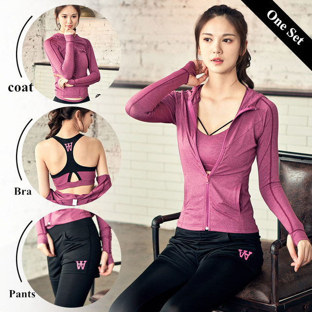 3pcs Women Yoga Sets Fitness Bra+Pants+Shirts Leggings Set Gym Workout Sexy Sports Wear Mesh Patchwork Leggings Running Clothing