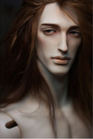 Free eyes included! language 80 1/3 cm tall large sexy male dolls bjd sd wolf mannequin best gift