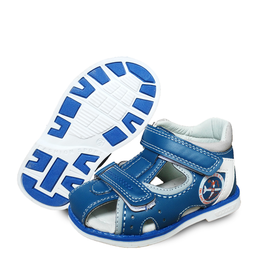 NEW 1pair Children Sandals KID boy non slip Summer Orthopedic shoes ,Super quality summer shoes