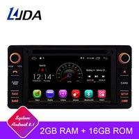 LJDA 2 Din Android 8,1 автомобильный радиоприемник для MITSUBISHI OUTLANDER 2013 2017 автомобильный мультимедийный плеер стерео Авто аудио gps Навигация DVD