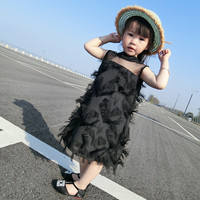Girls Dresses Summer 2018 New Korean Children S Clothing Lace Dress Girl Princess Dress Baby Gas
