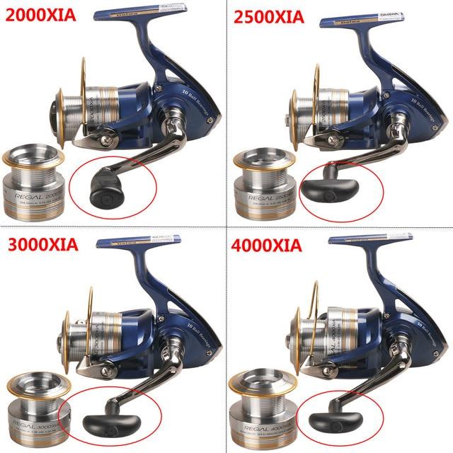 Original DAIWA REGAL Spinning Fishing Reel 2000XIA 2500XIA 3000XIA 4000XIA Size With Double Spool 10BB 5.3:1 Pesca Moulinet 1
