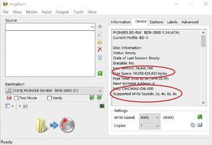 Image 4 - 50 חתיכות 50GB BD R 2 6X מהירות + CMC Injet להדפסה Bluray DL שכבה כפולה דיסק ריק