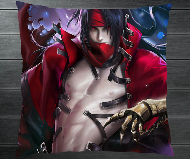 Us 4 99 Final Fantasy 7 Ff7 Vincent Valentine Cloud Strife Fanart Two Side Pillowcase Pillow Case Cover Cosplay Gift Bed Sofa Car Decor In Anime