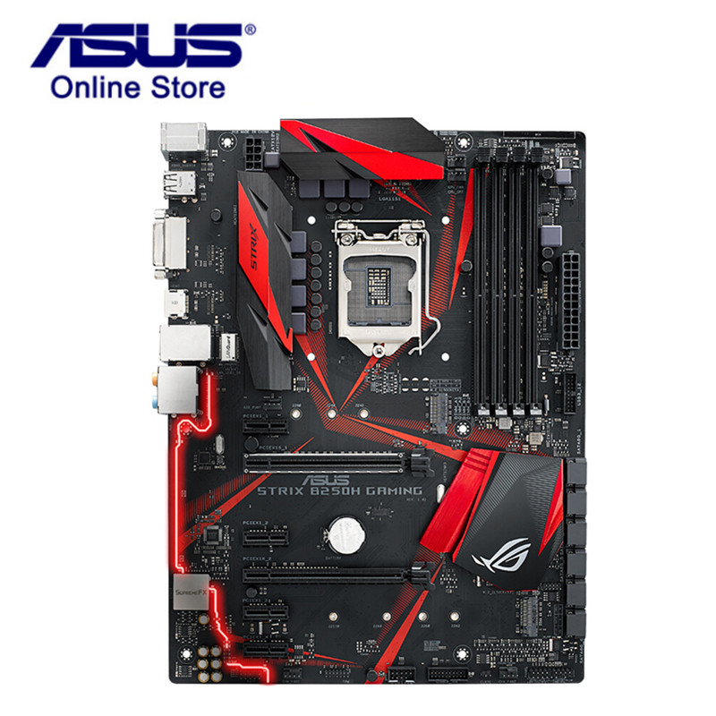 ASUS ROG STRIX B250H GAMING Motherboard LGA1151 Intel 6