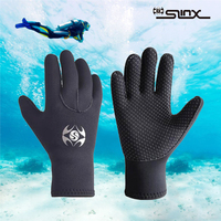 Diving Gloves Mens Women Warm Cold proof Diving Gloves Slinx Professional 3mm Neoprene Scuba For Swimming Surfing Fishing gloves