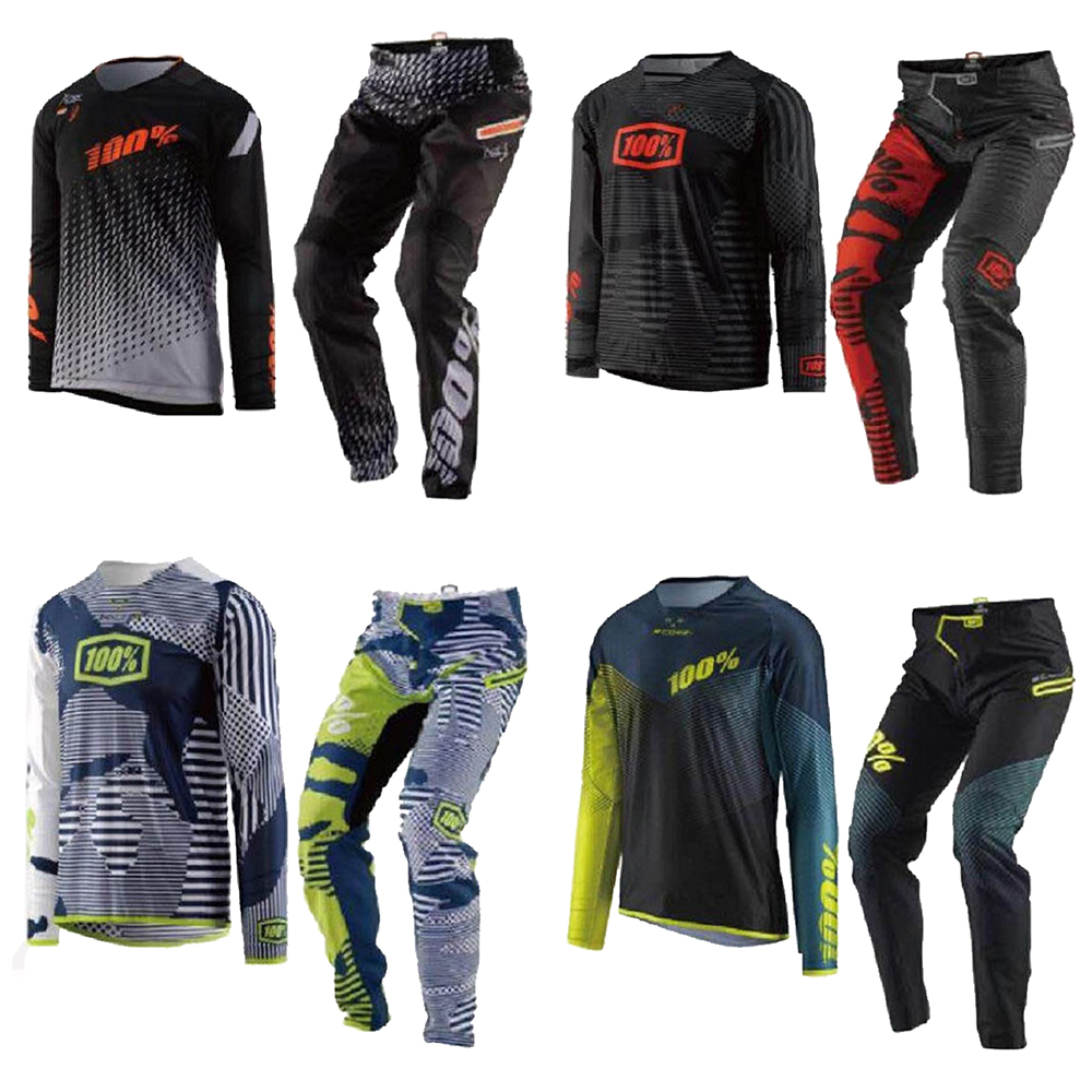R-CORE COURSE Porter Mx Jersey Pantalon Combo Dirt Bike BMX VTT MX Off Road Vélo Motocross Racing Équitation Gear Set