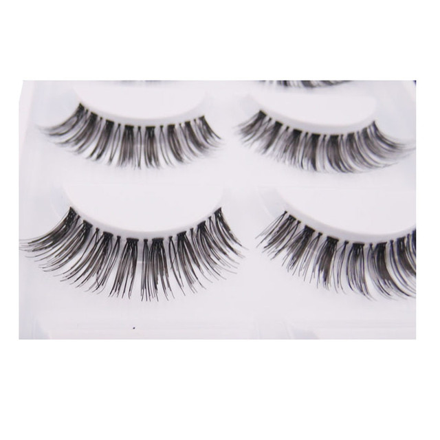 Low Price Japanese Style 5 Pairlot Crisscross False Eyelashes