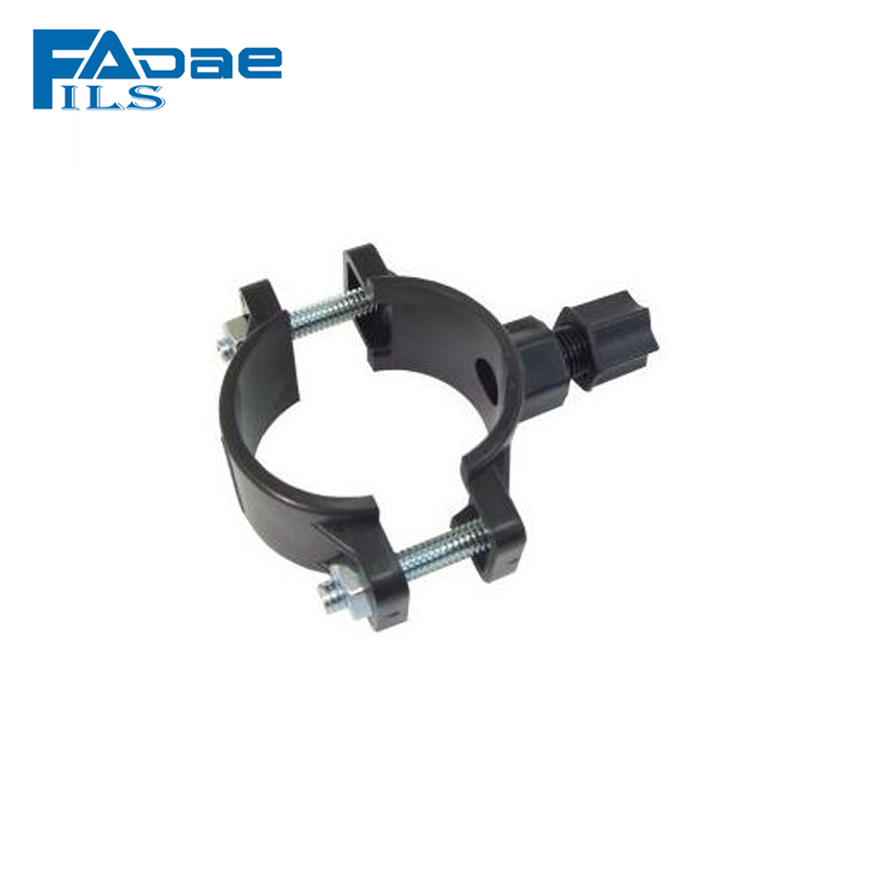 Universal 1/4 Plastic Drain Saddle Valve Clamp for Reverse Osmosis RO System ,male thread with nut 13mm male thread pressure relief valve for air compressor