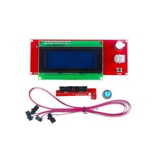 Image 3 - Ramps 1.4 Kit Mega 2560 R3 Development Board + Verwarmd Bed MK2B + Ramps 1.4 Controller Control Panel + Lcd 2004for Cnc 3D Printer Kit