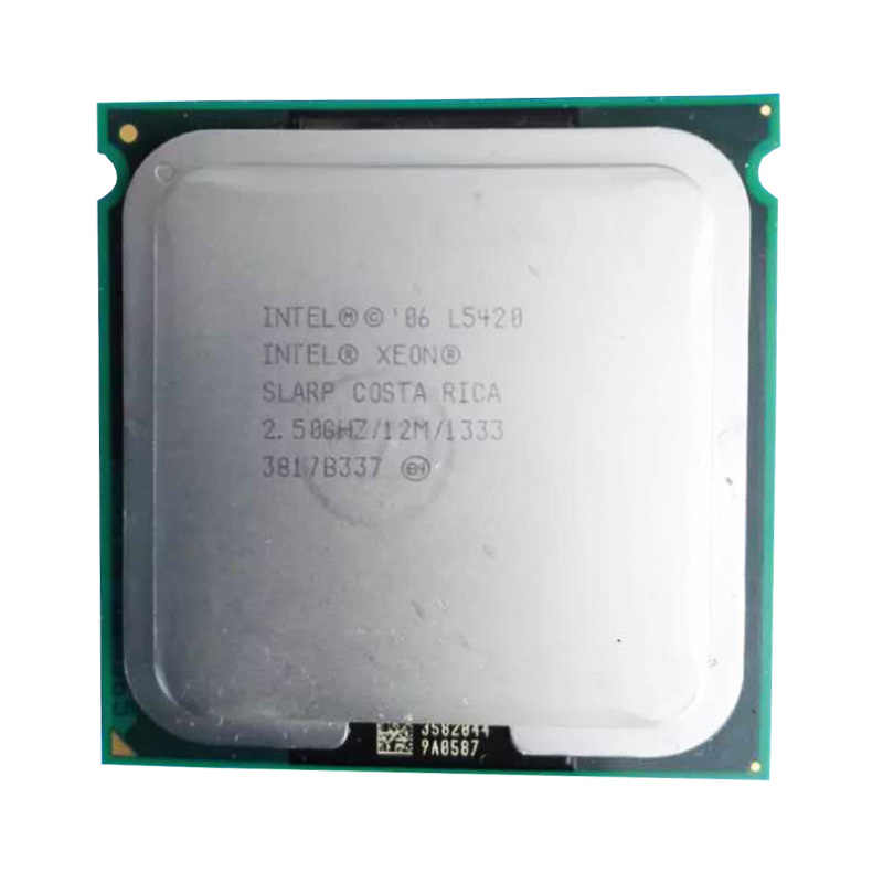 XEON l5420 CPU 2 5GHz /L2 Cache 50W 12MB/Quad Core//FSB