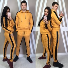 Women Mens Unisex Sets Casual Tracksuit Newest Autumn Winter Hoodies Long Sleeves Sports Suit Two Pieces Sportswear