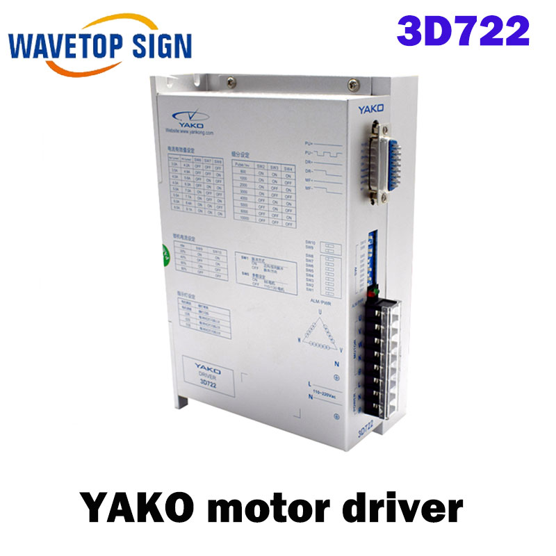 three phase Stepper Motor driver 3D722 research and control three phase driver yako 100% genuine ykb3606ma ykb3606mb