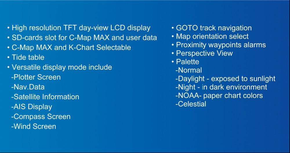 "Matsutec HP-628A 5.6"" Color LCD Class B AIS Transponder Combo High Sensitivity Marine GPS Navigator 2"