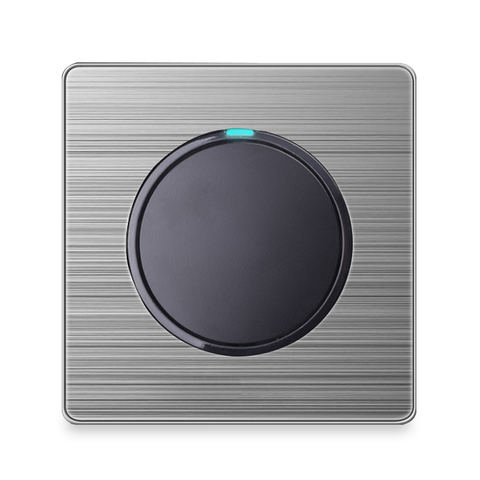 atacado de luxo interruptor de luz de parede aleatorio clique botao com indicador led 1