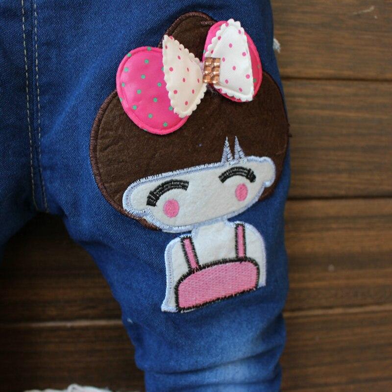 летние дети девушка брюки мультфильм дети детская одежда малыша девушки брюки моды весна детские джинсы для 2-4 лет старый