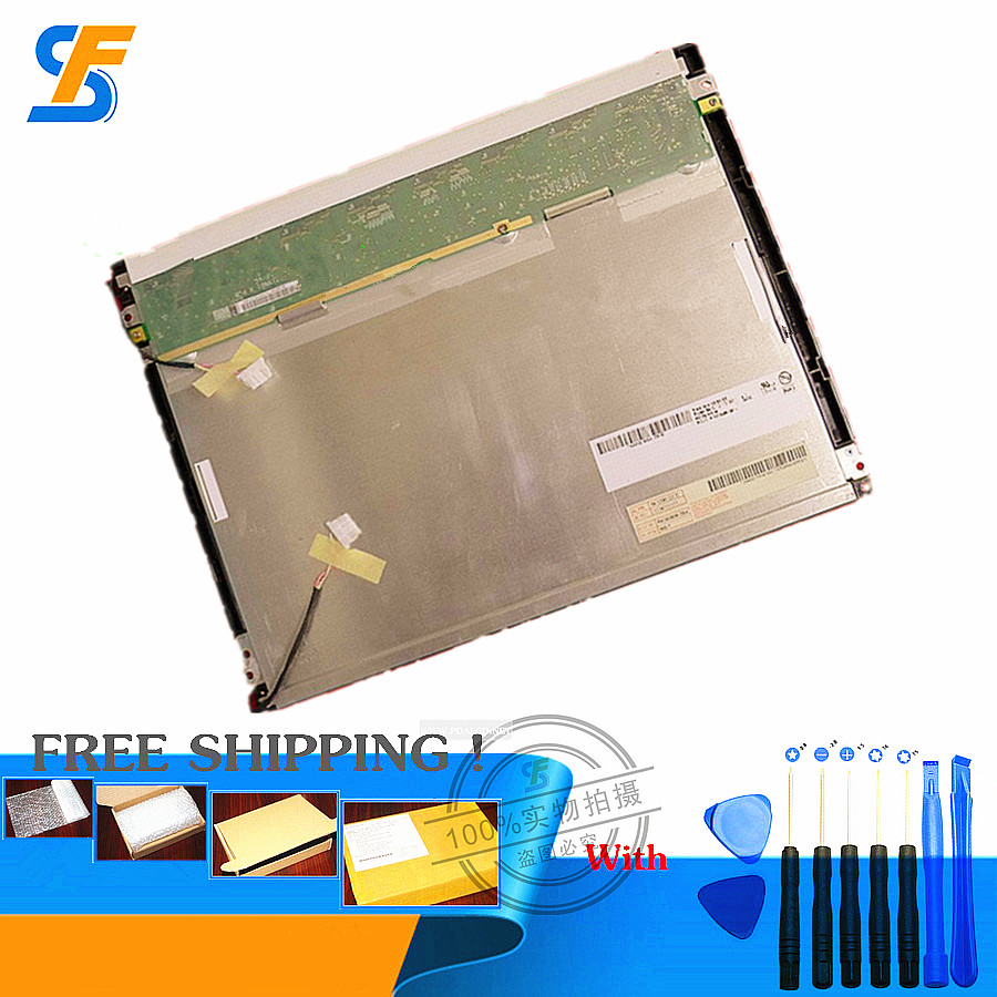 Original 12.1 inch Industrial LCD Screen for AUO G121SN01 V.0, G121SN01 V.1 LCD display Screen panel Replacement Parts 10 4 inch screen panel for auo g104vn01 v 0 g104vn01 v0 for industrial application control equipment lcd display free shipping