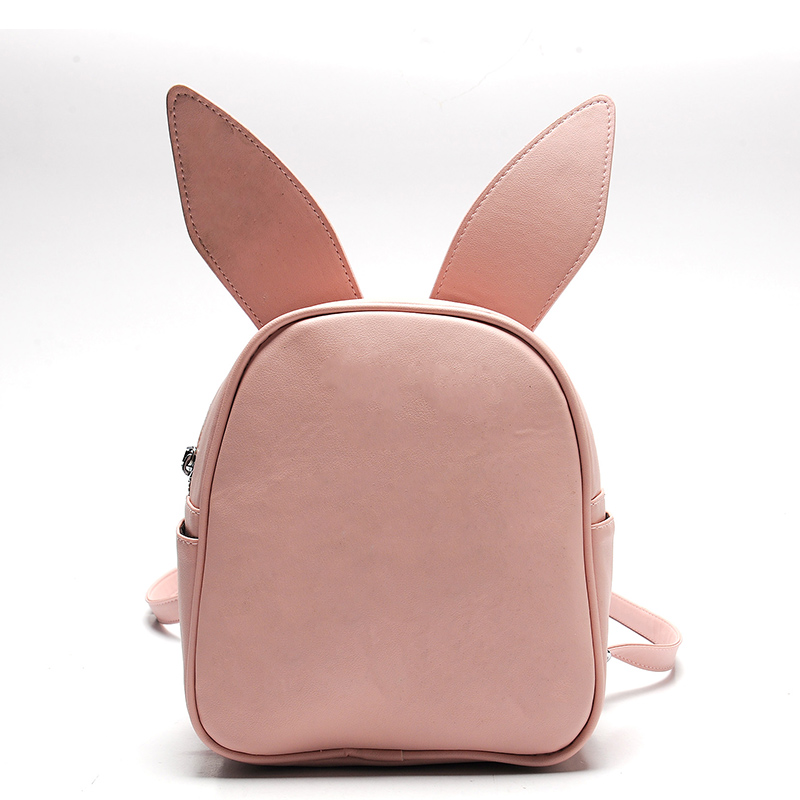 Women Backpack Small Cute Modeling Bat Wing Rabbit Cat Ear Backpacks for Girls School Bag Three Pairs of Ears Shoulder BagWomen Backpack Small Cute Modeling Bat Wing Rabbit Cat Ear Backpacks for Girls School Bag Three Pairs of Ears Shoulder Bag