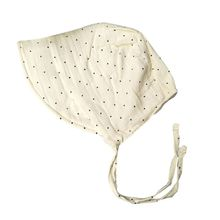 Fashion New Dot Cotton Baby Hat Summer Vintage Infant Bonnet for Girls Adjustable 0-2 Years