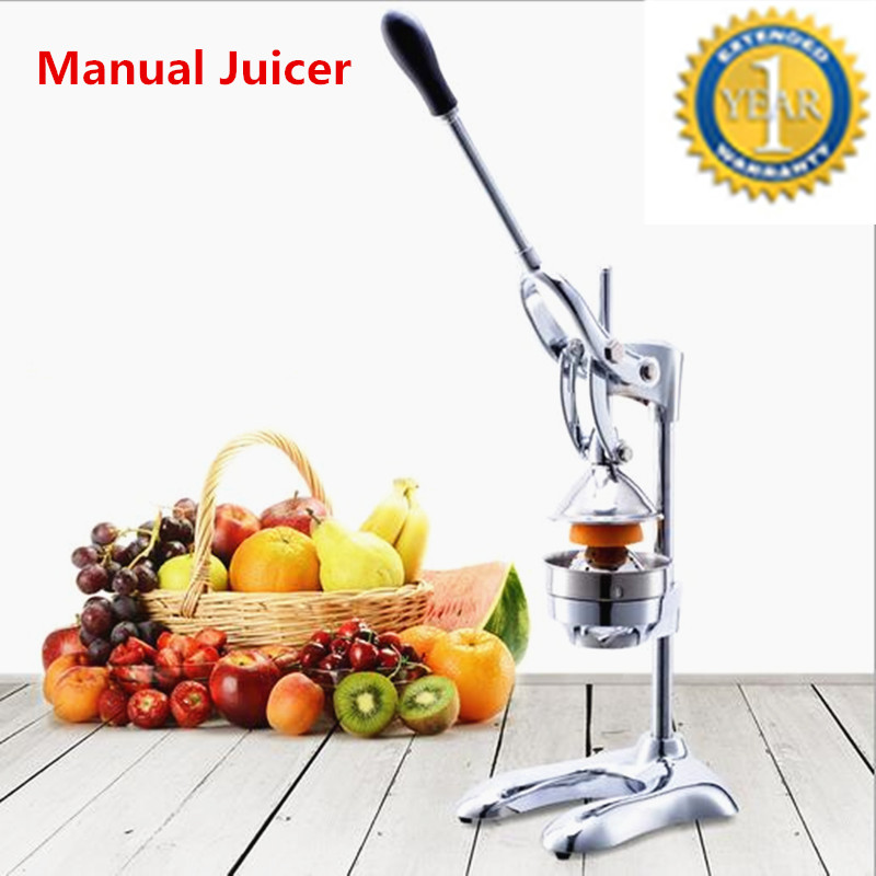 Stainless Steel Manual Press Orange Juicers Citrus Fruit Lemon Juicer Juice Squeezer Kitchen Tool Pressing Machine stainless steel manual sugarcane juice machine sugar cane machine cane juice squeezer cane crusher