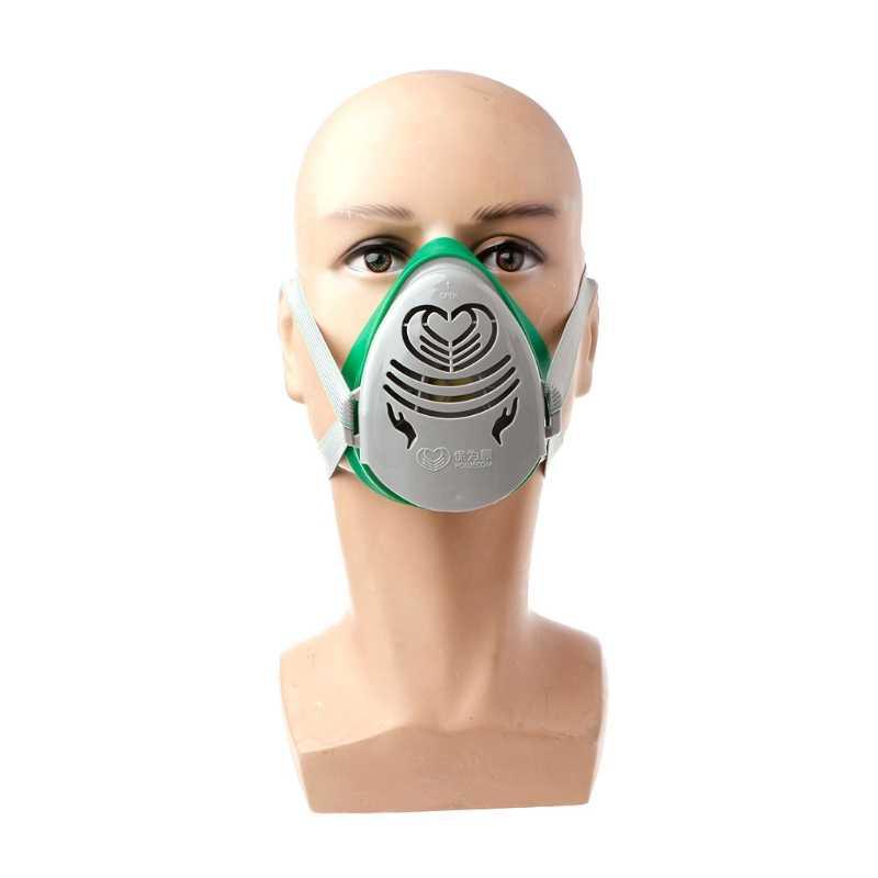 N3800 مكافحة الغبار مصنع تصفية الطلاء رش خرطوشة التنفس قناع واقي من الغاز