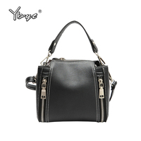 YBYT Brand Vintage Casual Bucket Bags Women PU Leather Handbags Female Shopping Package Ladies Shoulder Messenger
